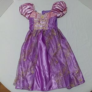 Disney Rapunzel girls costume dress